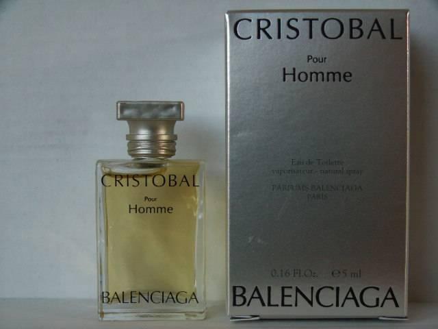 De Cristobal Miniatures Balenciaga Parfum Collection ZuOkiTPX