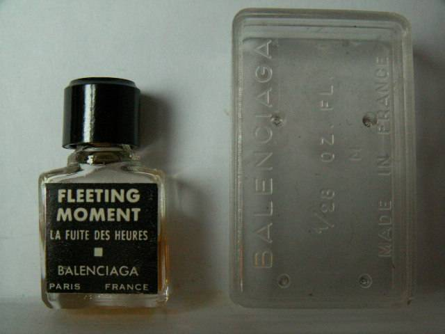 Balenciaga Miniatures Collection Fleeting Cristobal Parfum De tCQsrhdx