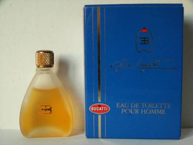miniatures de parfum bugatti ettore - ettore bugatti pour homme