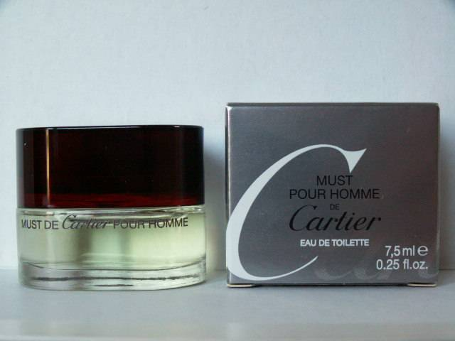 Miniatures Parfum Cartier Pour Must De Collection Homme 7gyvIf6bY