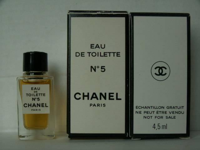 echantillon chanel