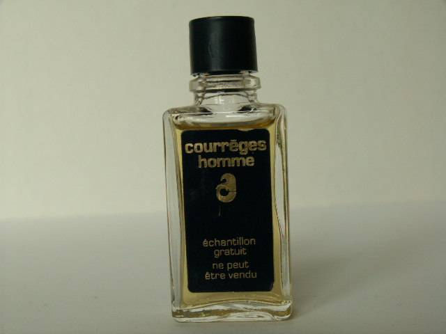 Miniatures de parfum de collection Courrèges Courrèges Homme