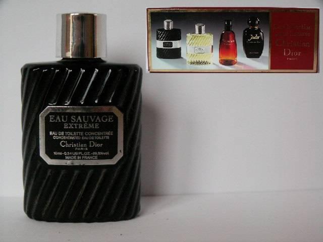 miniatures de parfum de collection avec photos liste de 600 parfumeurs dior christian eau. Black Bedroom Furniture Sets. Home Design Ideas