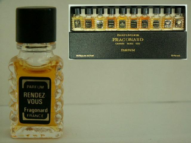Miniatures De Parfum De Collection Fragonard Rendez Vous