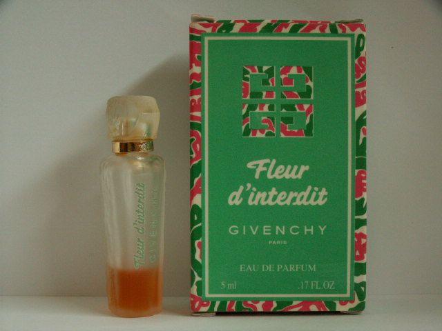 Miniatures D'interdit De Givenchy Parfum Fleur Collection lKTJ51uFc3