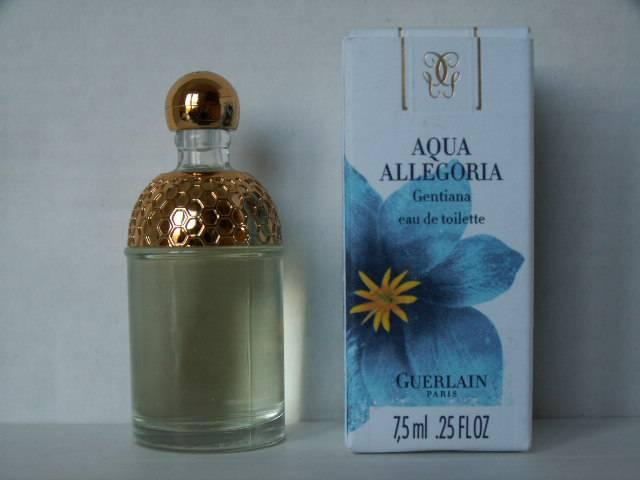 Aqua De Gentiana Miniatures Allegoria Parfum Collection Guerlain OuTPkXiZ