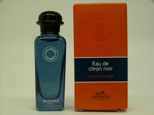 Miniatures De Parfum De Collection Hermès Eau De Citron Noir