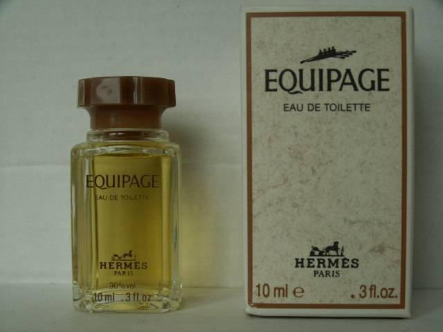 Miniatures De Parfum De Collection Hermès Equipage