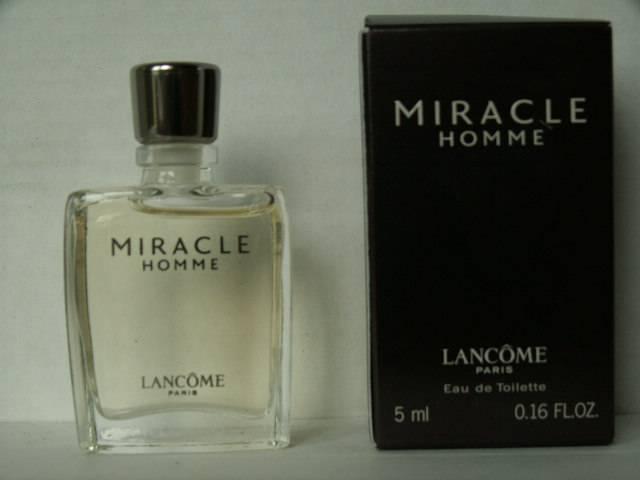 Miracle Parfum Collection Homme De Miniatures Lancôme SUMzVp