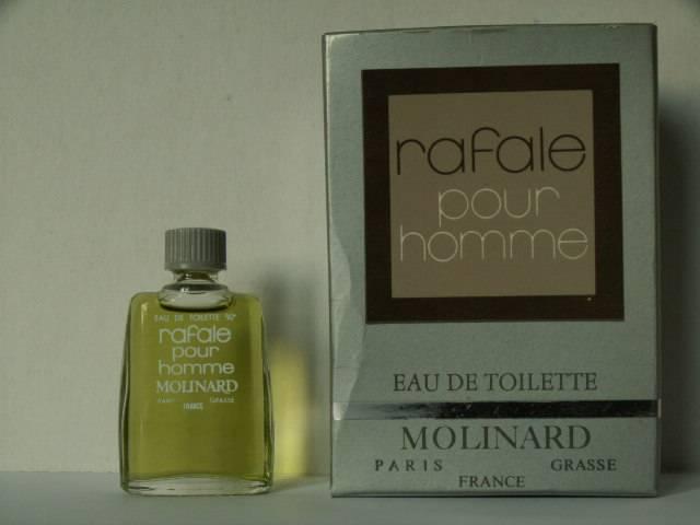 Miniatures De Parfum De Collection Molinard Rafale Pour Homme