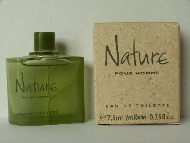 Miniatures De Parfum De Collection Rocher Yves Nature Pour Homme